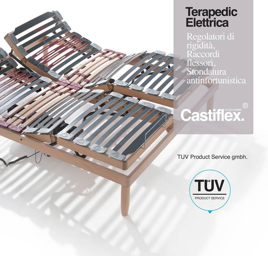 rete elettrica in legno terapedic castiflex